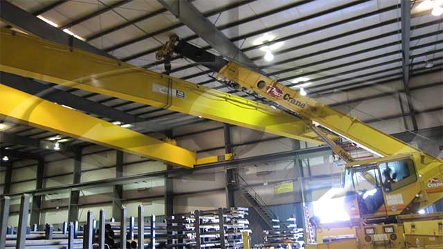 New 15-ton Crane Installation