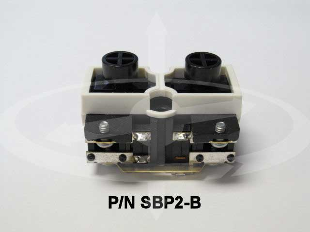 Magnetek Sbp2 B Momentary On Off 2 Button Switch Crane